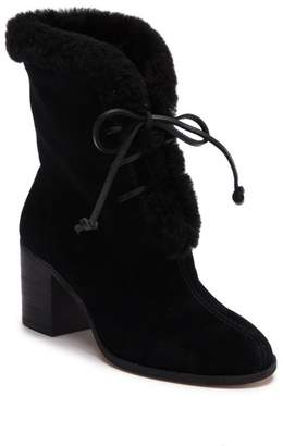 Splendid Cassidy Faux Fur Lace-Up Boot