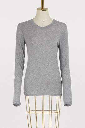 Majestic Filatures Long-sleeved cashmere crew neck top