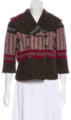 Kenzo Knit Patterned Jacket