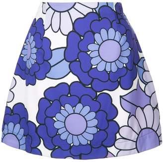 Dodo Bar Or short floral skirt