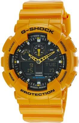 Casio Men's G-Shock GA100A-9A Resin Quartz Watch