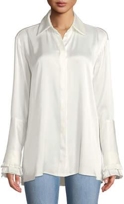 Maggie Marilyn Everlasting Love Silk Button-Front Shirt