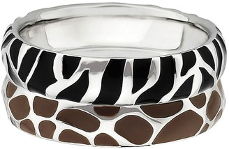 Simply Stacks Sterling Wild Stackable Ring Set