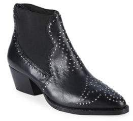 Charles by Charles David Zach Studded Leather Booties