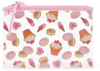 FOREVER 21+ Cupcake Print Makeup Bag