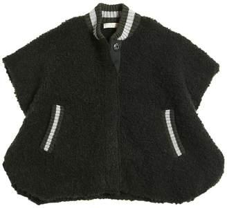 Stella McCartney Curly Wool & Alpaca Blend Cape