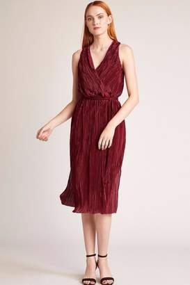 BB Dakota Pleated Midi Dress