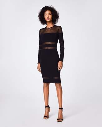 Nicole Miller Black Mesh Dresses Shopstyle