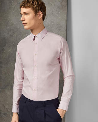 Ted Baker TIMONE Diamond print cotton shirt
