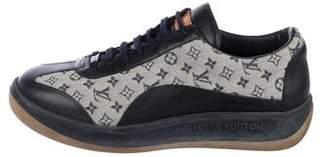 Louis Vuitton Monogram Idylle Low-Top Sneakers