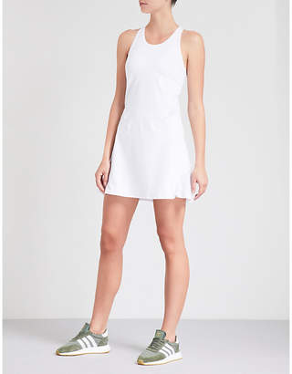 Monreal London Ace racerback stretch-jersey dress
