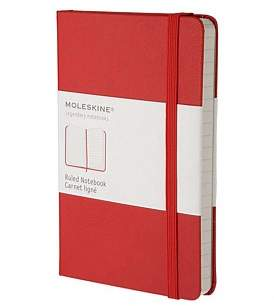 Moleskine Classic Hard Cover Ruled Notebook Pocket