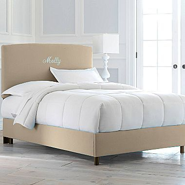JCPenney Headboard or Bed, Molly Monogrammed Bed