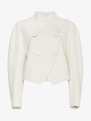 Proenza Schouler Re-edition wool cotton-blend double breasted jacket