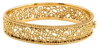 Roberto Coin 18K Diamond Maresque Bangle