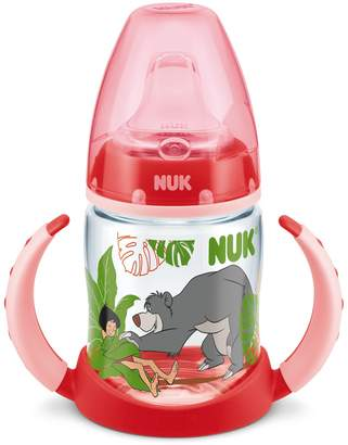 NUK First Choice Disney Jungle Book Drinks Bottle 150 ml with Soft Drinking Teat/from 6 Months/BPA Free/Red