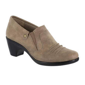 Easy Street Shoes Womens Bennett Shooties Elastic Round Toe