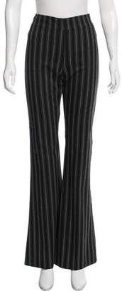 Avenue Montaigne Mid-Rise Striped Pants w/ Tags