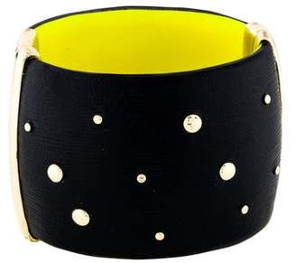 Alexis Bittar Studded Hinge Lucite Bangle