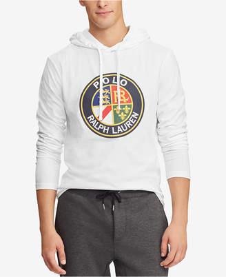 Polo Ralph Lauren Downhill Skier Men Jersey Hooded T-Shirt