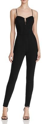 GUESS Mona Lace-Up Jumpsuit $98 thestylecure.com