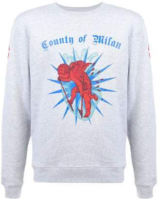 Marcelo Burlon County of Milan logo sweatshirt