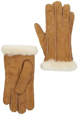 UGG Classic Perforated Genuine Dyed Sheep Shearling Gloves