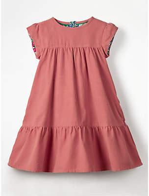 Boden Mini Girls' Corduroy Dress, Rose Pink