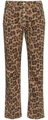Miaou Junior Leopard Print Slim Trousers