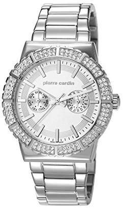 Pierre Cardin Saint-Maur Women's Quartz Watch with Silver Dial Analogue Display and Silver Stainless Steel Bracelet PC107192S04