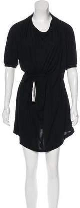 Y-3 Short Sleeve Mini Dress