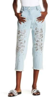 Religion Dash Rhinestone & Sequin Jeans
