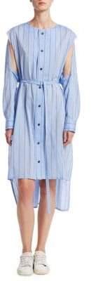 DAY Birger et Mikkelsen Nocturne 22 Draped Button-Front Dress