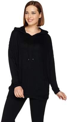 Anybody AnyBody Loungewear Brushed Hacci Hooded Sweatshirt