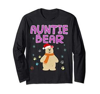 Auntie Bear Christmas Costume T-Shirt Funny Gift Shirt