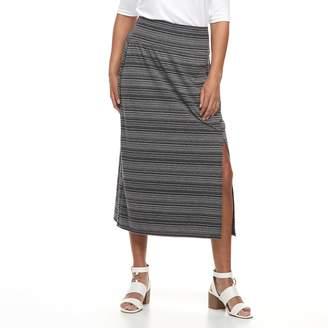 Apt. 9 Petite Tummy Control Maxi Skirt