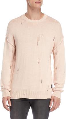 Criminal Damage Distressed Sweater