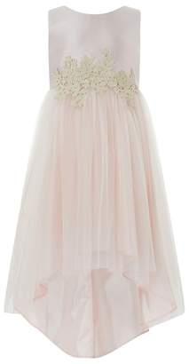 Monsoon Girls' Pink 'Serena' High Low Dress