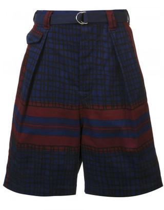 Sacai printed shorts $520 thestylecure.com