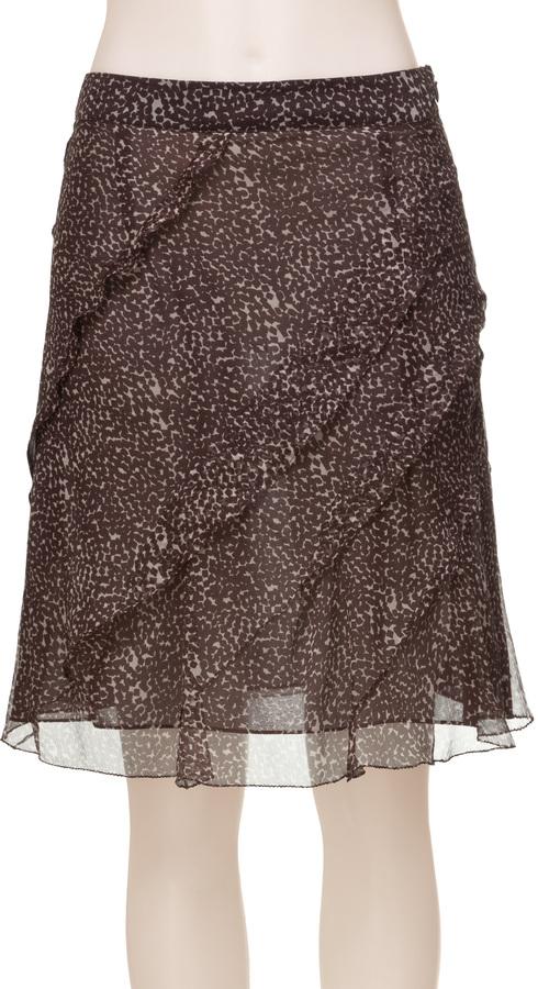 Max Studio Silk Chiffon Skirt