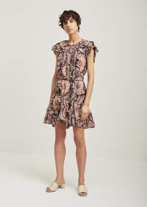 Isabel Marant Xanity Ruffle Dress