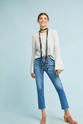 AG Jeans AG The Isabelle High-Rise Straight Cropped Jeans $215 thestylecure.com