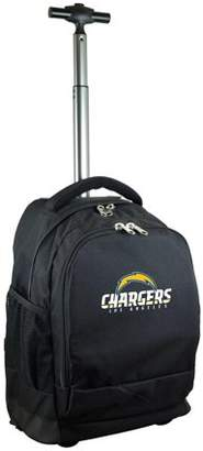 Denco NFL Los Angeles Chargers Wheeled Premium Backpack