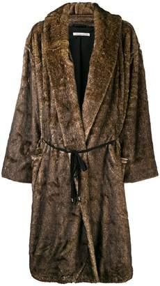 Mes Demoiselles furry oversized coat