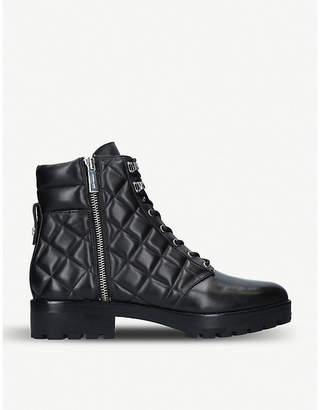 MICHAEL Michael Kors Rosario leather combat boots