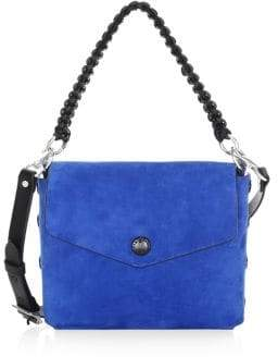 Rag & Bone Snap Concept Suede Shoulder Bag