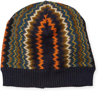 Missoni Zigzag Wool-Blend Beanie