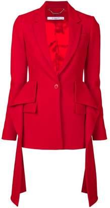 Givenchy draped blazer