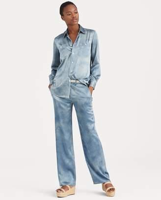 Ralph Lauren Silk Wide-Leg Pant