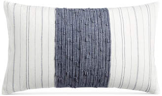 """Hotel Collection CLOSEOUT! Ticking Stripe 14"""" x 24"""" Decorative Pillow, Created for Macy's"""